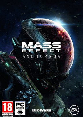 Mass Effect: Andromeda PC Cover