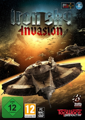 The Iron Sky:Invasion PC Cover