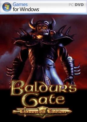 Baldur's Gate: Enhanced Edition PC Cover