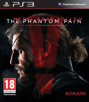 Metal Gear Solid V: The Phantom Pain PS3 Cover