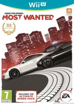 Need For Speed: Most Wanted Wii U Cover