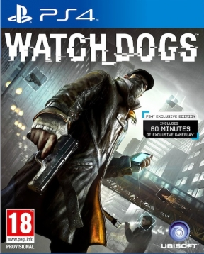 Watch Dogs PS4 Cover