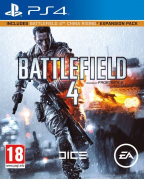 Battlefield 4 PS4 Cover