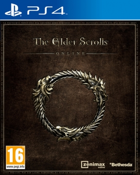 The Elder Scrolls Online PS4 Cover