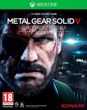 Metal Gear Solid V: Ground Zeroes Xbox One Cover