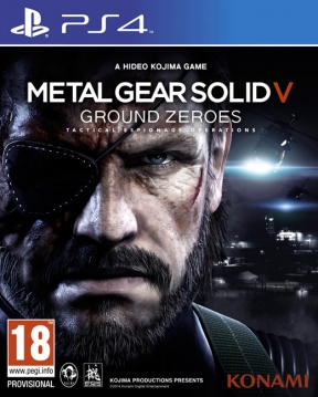 Metal Gear Solid V: Ground Zeroes PS4 Cover