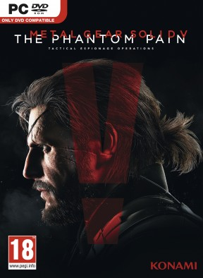 Metal Gear Solid V: The Phantom Pain PC Cover