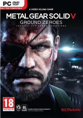 Metal Gear Solid V: Ground Zeroes PC Cover