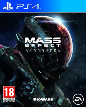 Mass Effect: Andromeda PS4 Cover
