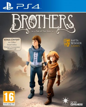 Brothers - A Tale of Two Sons PS4 Cover