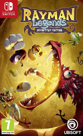 Rayman Legends Switch Cover
