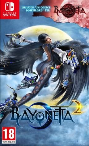 Bayonetta 2 Switch Cover