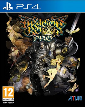Dragon's Crown PS4 Cover