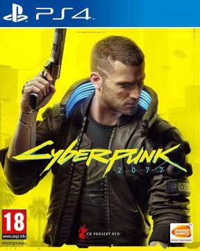Cyberpunk 2077 PS4 Cover
