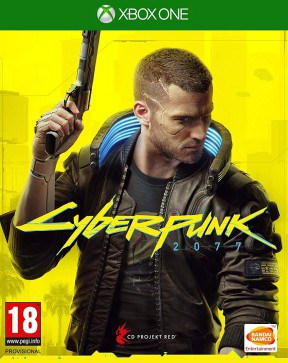 Cyberpunk 2077 Xbox One Cover