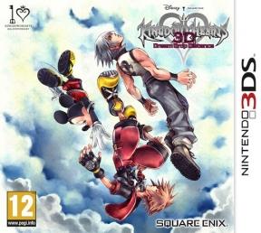 Kingdom Hearts 3D: Dream Drop Distance 3DS Cover