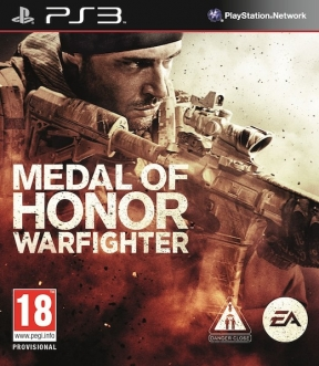Medal of Honor: Warfighter PS3 Cover