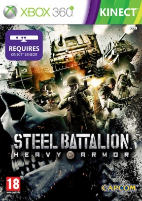 Steel Battalion Heavy Armor Xbox 360 Cover