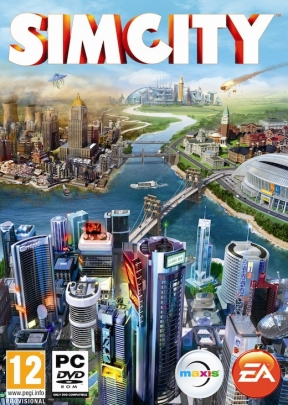 SimCity PC Cover