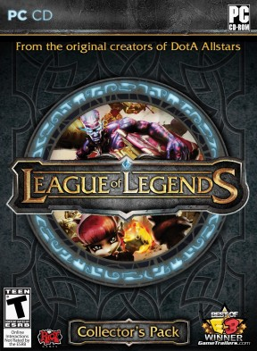 League of Legends PC Cover