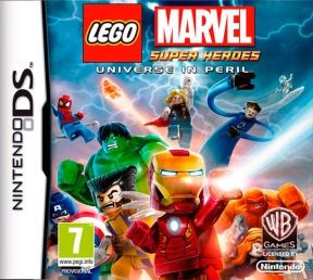 LEGO Marvel Super Heroes Nintendo DS Cover