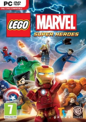 LEGO Marvel Super Heroes PC Cover