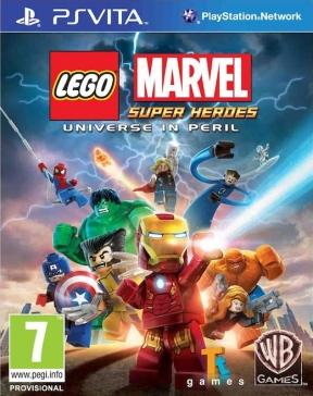 LEGO Marvel Super Heroes PS Vita Cover