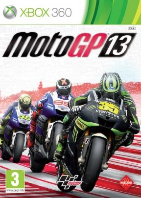 MotoGP 13 Xbox 360 Cover