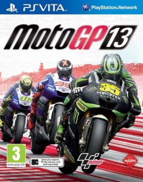 MotoGP 13 PS Vita Cover