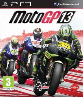 MotoGP 13 PS3 Cover