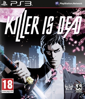 Killer is Dead PS3 Cover
