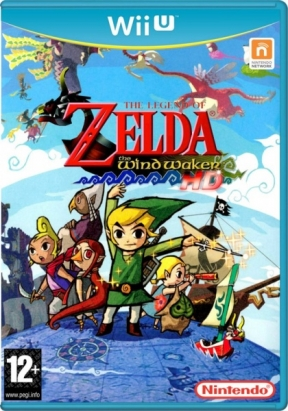The Legend of Zelda: The Wind Waker HD Wii U Cover