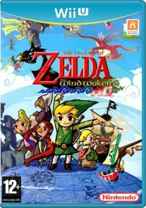 The Legend of Zelda: The Wind Waker HD Wii U Cover