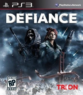 Defiance PS3 Cover