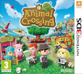 Animal Crossing New Leaf 3DS Cover