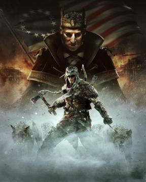 Assassin's Creed 3: La Tirannia di Re Washington Xbox 360 Cover