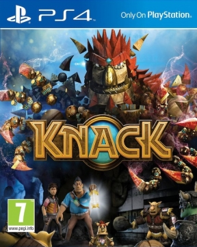Knack PS4 Cover