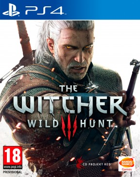 The Witcher 3: Wild Hunt PS4 Cover