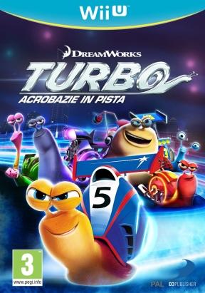 Turbo Acrobazie in Pista Wii U Cover