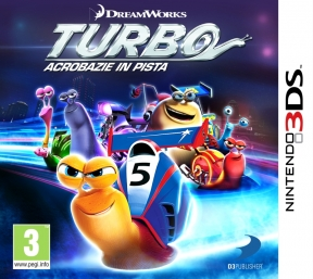 Turbo Acrobazie in Pista 3DS Cover