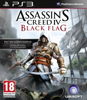 Assassin's Creed IV: Black Flag PS3 Cover