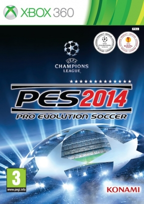 Pro Evolution Soccer 2014 Xbox 360 Cover
