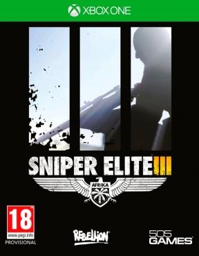 Sniper Elite 3 Xbox One Cover