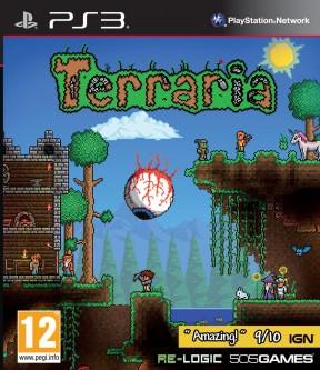 Terraria PS3 Cover