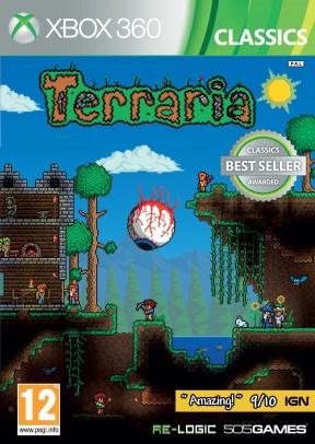 Terraria Xbox 360 Cover