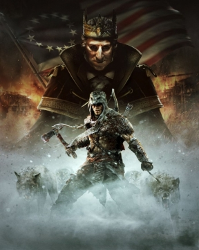 Assassin's Creed 3: La Tirannia di Re Washington - Il Tradimento PS3 Cover