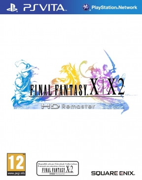 Final Fantasy X | X-2 HD Remaster PS Vita Cover