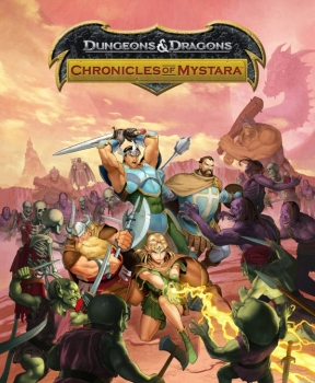 Dungeons & Dragons: Chronicles of Mystara PS3 Cover