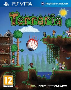 Terraria PS Vita Cover