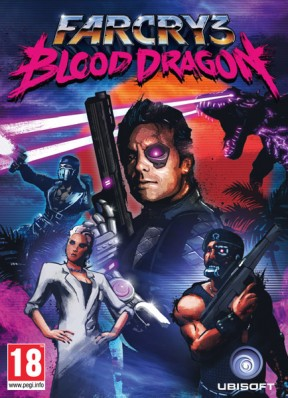 Far Cry 3 Blood Dragon Xbox 360 Cover
